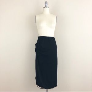 Drifter Jersey Side Ruched Skirt